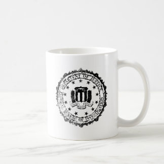 FBI Rubber Stamp Coffee Mug