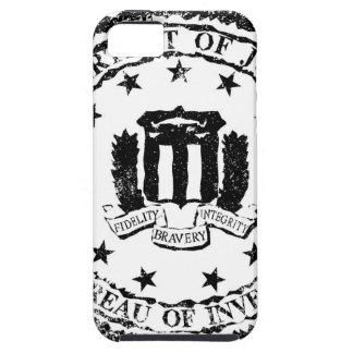 FBI Rubber Stamp iPhone 5 Case