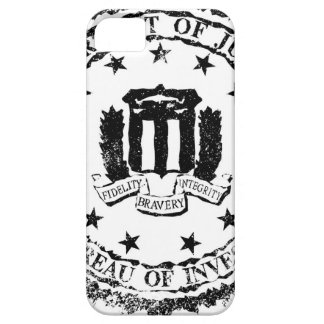 FBI Rubber Stamp iPhone 5 Cases