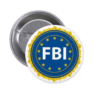 FBI Seal 2 Inch Round Button