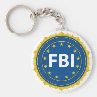 FBI Seal Basic Round Button Keychain