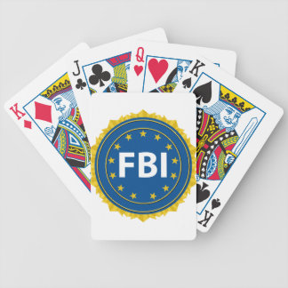 FBI Seal Bicycle Playing Cards