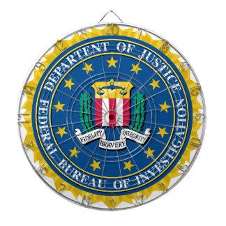 FBI Seal Dartboards