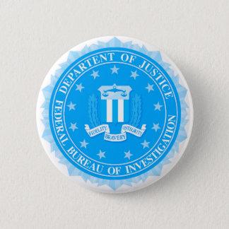 FBI Seal In Blue 2 Inch Round Button