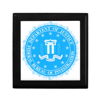 FBI Seal In Blue Gift Box