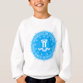 FBI Seal In Blue Sweatshirt