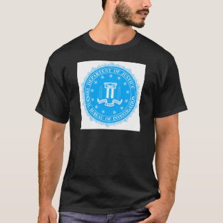FBI Seal In Blue T-Shirt