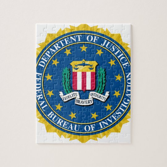 FBI Seal Jigsaw Puzzle