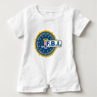 FBI Seal Mockup Baby Romper