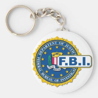 FBI Seal Mockup Basic Round Button Keychain