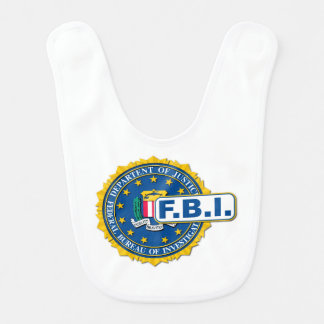 FBI Seal Mockup Bib