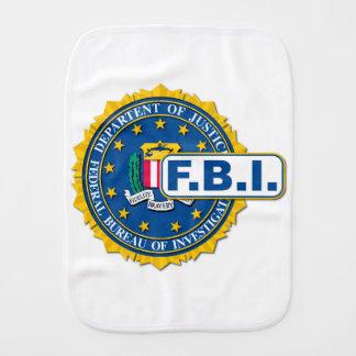 FBI Seal Mockup Burp Cloth