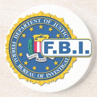 FBI Seal Mockup Coaster