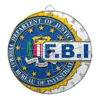 FBI Seal Mockup Dartboard