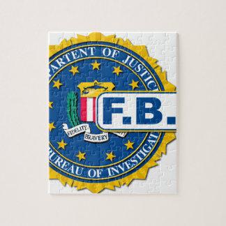 FBI Seal Mockup Jigsaw Puzzle