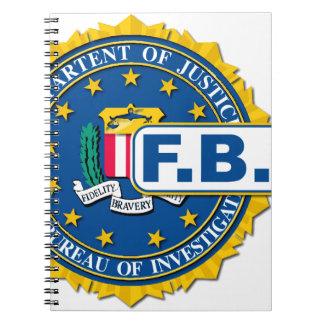 FBI Seal Mockup Notebook