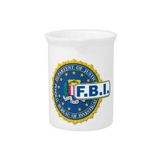 FBI Seal Mockup Pitcher