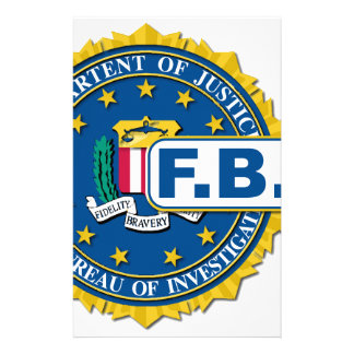 FBI Seal Mockup Stationery