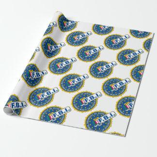 FBI Seal Mockup Wrapping Paper