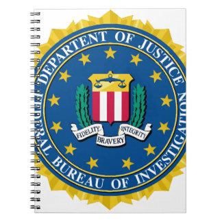 FBI Seal Spiral Notebook