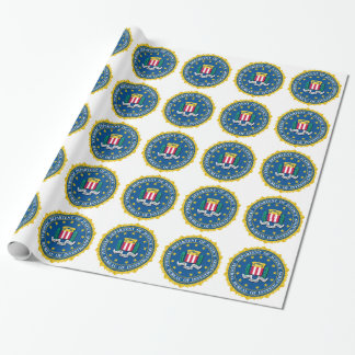 FBI Seal Wrapping Paper