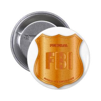 FBI Spoof Shield Badge 2 Inch Round Button