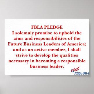 FBLA Pledge Poster