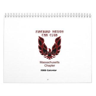 FBNCC MA CHAPTER 2009 CALENDAR - Customized