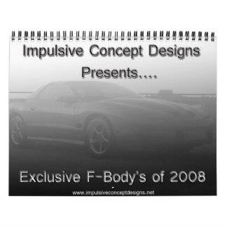 Fbody Calendar 2008