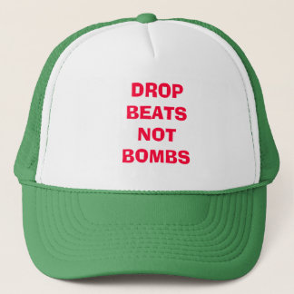 """FCC """"DROP BEATS NOT BOMBS"""" HAT BY BAGS"""