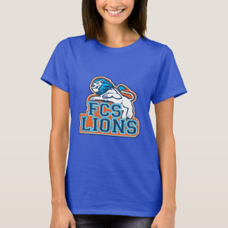 FCS Lion Logo-Blue T-Shirt