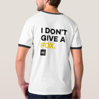 FCUK Periodic Table & I DONT GIVE A FOX SHIRT