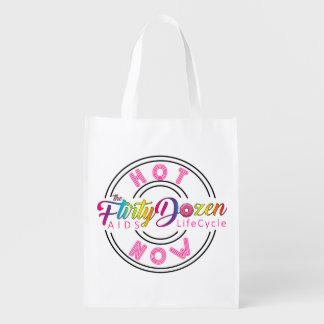 FD Hot Now Reusable Bag Reusable Grocery Bags