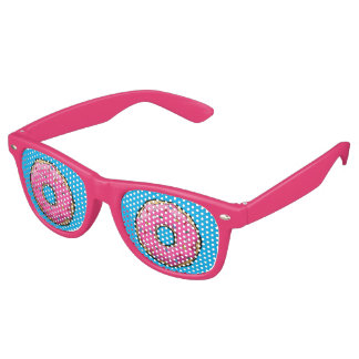 FD Pink Donut Party Glasses Party Sunglasses