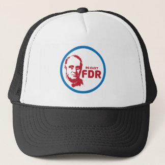 FDR BUTTON TRUCKER HAT