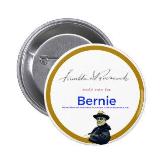 FDR for Bernie Sanders 2 Inch Round Button