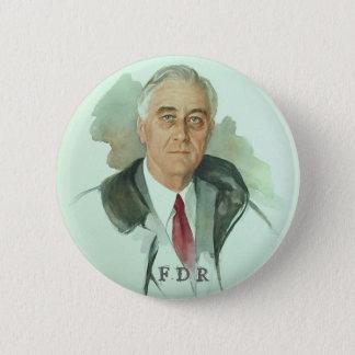FDR Portrait 2 Inch Round Button