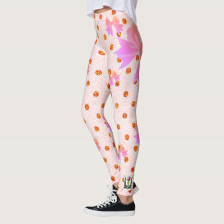 FD's Collection- Dots and Bows Leggings L 53086G3