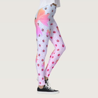 FD's Collection- Dots and Bows Leggings L 53086I3
