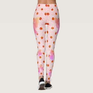 FD's Collection- Dots and Bows Leggings S 53086G1