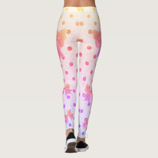 FD's Collection- Dots and Bows Leggings S 53086H1