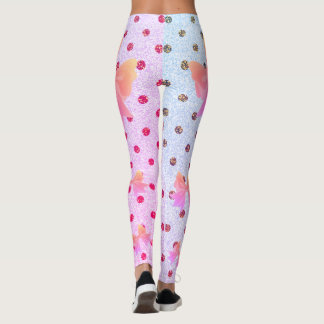 FD's Collection- Dots and Bows Leggings XL 53086I4
