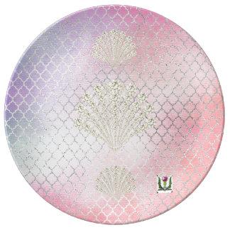 "FD's Mermaid 8.5"" Porcelain Plate 53086A"