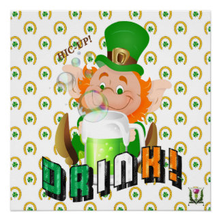 FD's St. Patrick's Day Artwork 53086A2 Poster