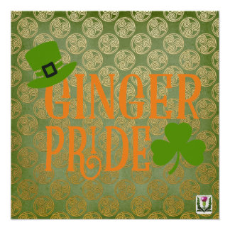 FD's St. Patrick's Day Artwork 53086A3 Poster