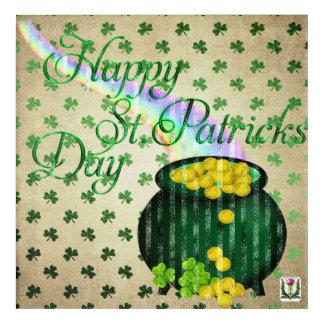 FD's St. Patrick's Day Artwork 53086A Acrylic Print