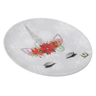FD's Unicorn Melamine Plate 53086