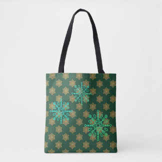 FD's Winter Holiday Tote Bag 53086B3