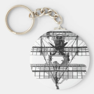FE_2b_two_seater_biplane_model_RAE-O908 Keychain