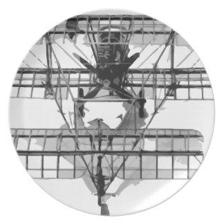 FE_2b_two_seater_biplane_model_RAE-O908 Plate